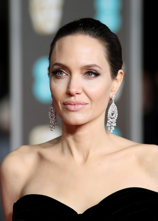 Angelina Jolie BAFTA 2018 beauty