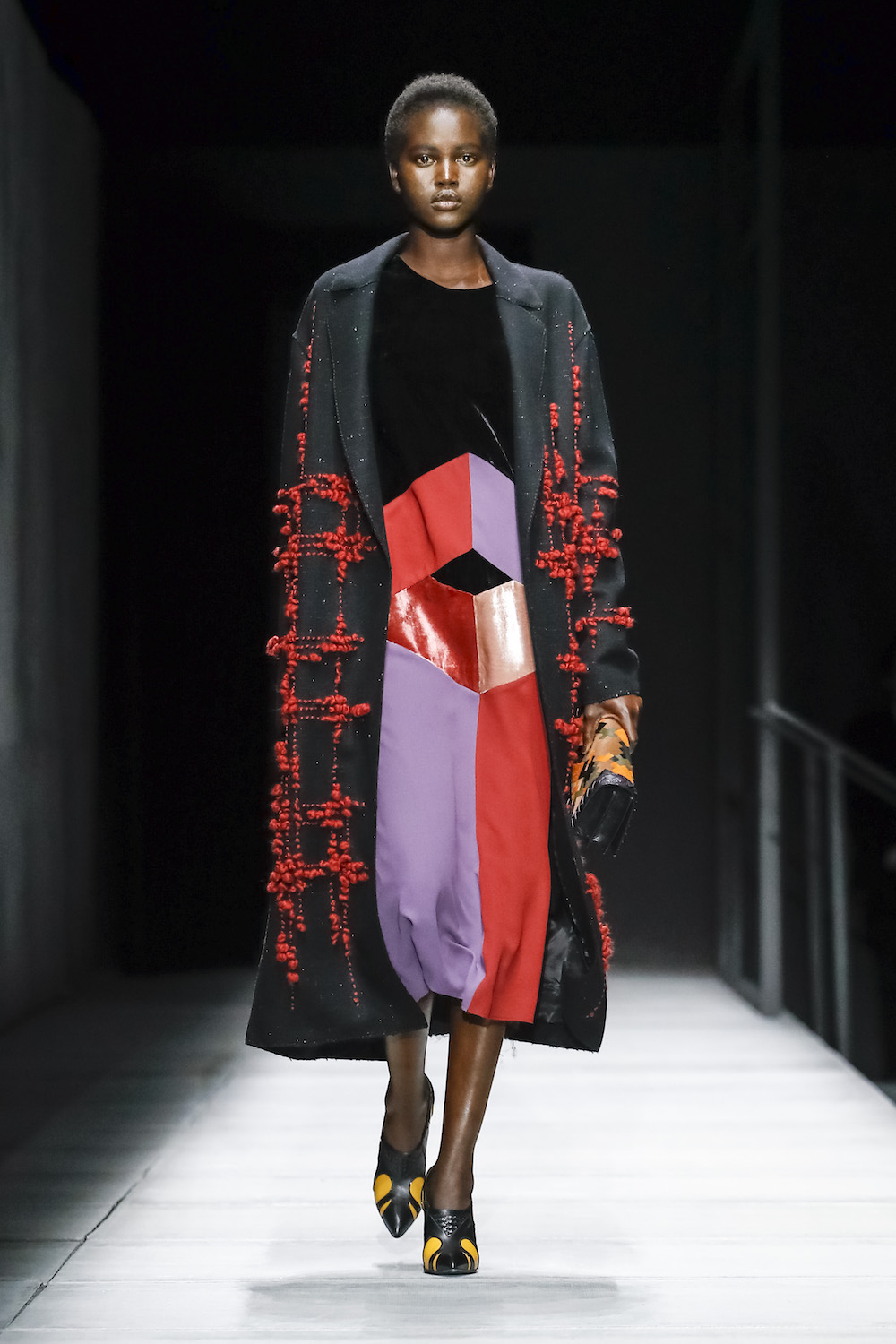 Bottega Veneta Does Diversity on Its Fall Runway in More Ways than One