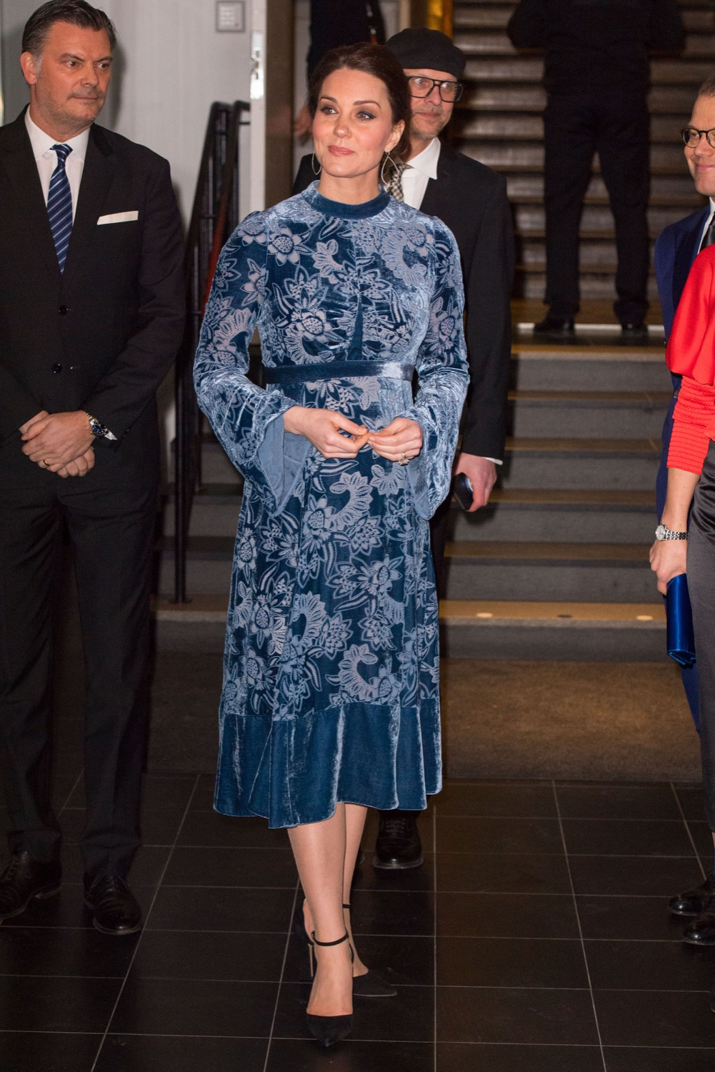 Kate Catherine Middleton Duchess Of Cambridge in Erdem