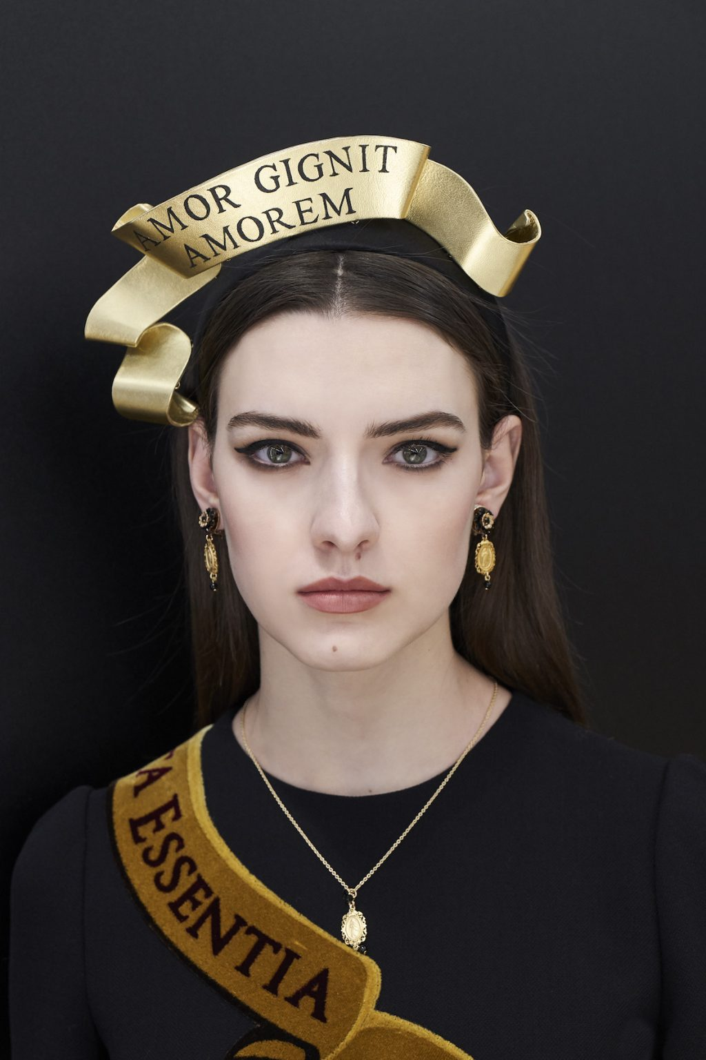 Dolce & Gabbana Reveals (Exactly) What It Took to Create This MFW Look