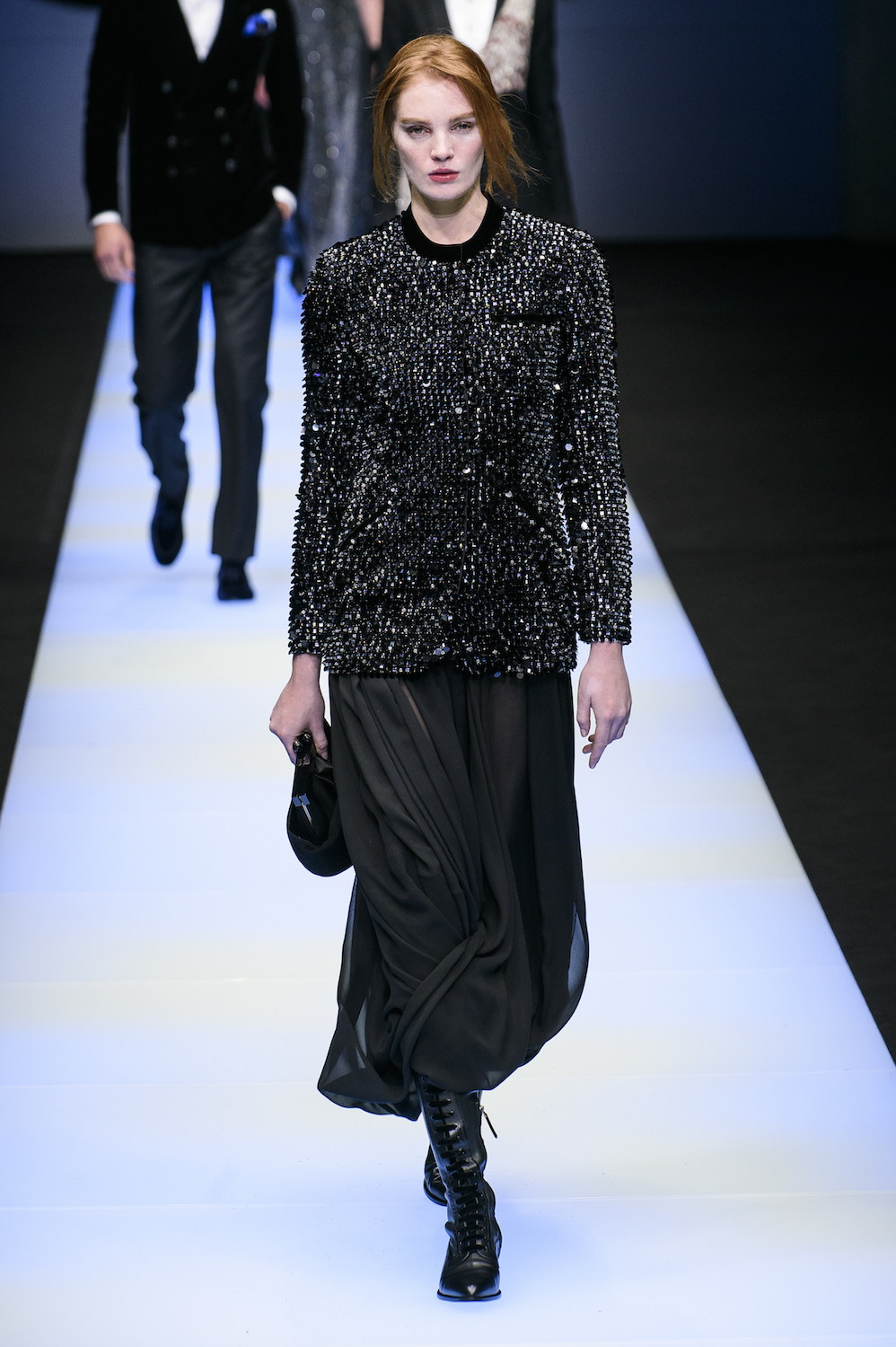 Giorgio Armani Promises No Gimmicks, Only Sophisticated Clothes