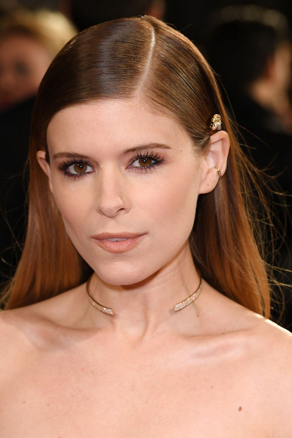 Kate Mara BAFTAs Beauty 2018
