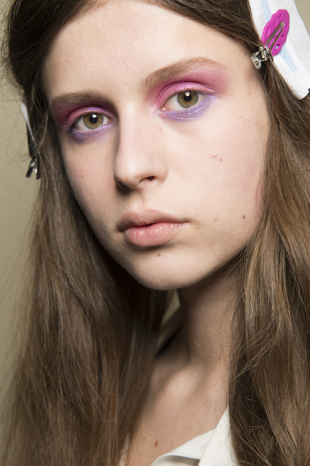 Peter Pilotto AW18 LFW Beauty