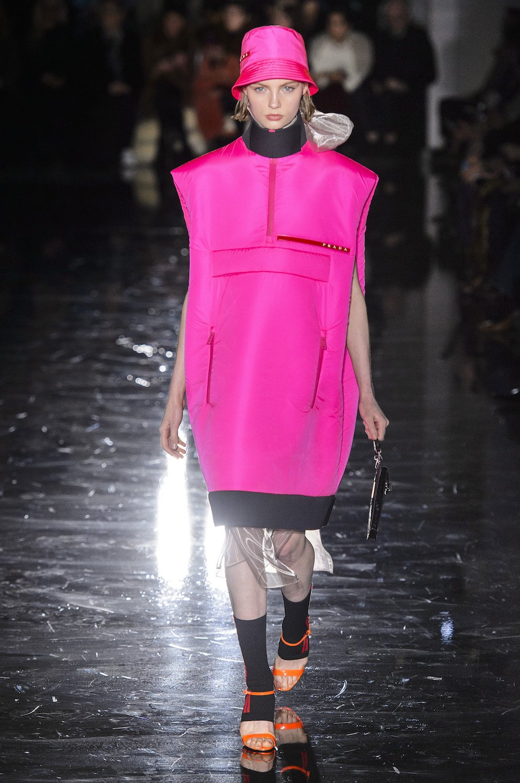 126894c271ef Fluorescent Revolution: At Prada, the Future of Fashion Is Neon Bright
