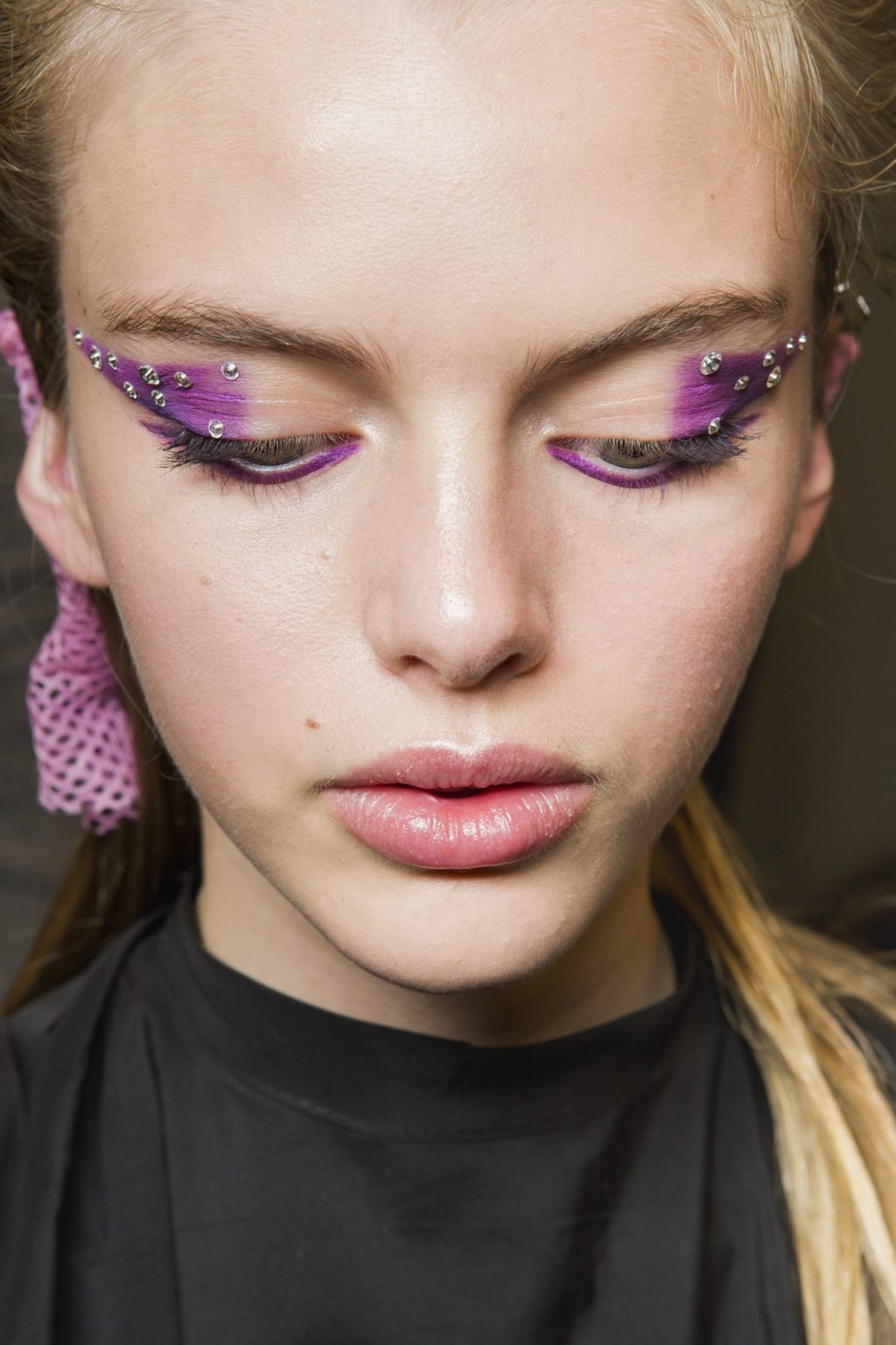 Gravity-Defying Hair, a Third Eye, and More Shocking Beauty Moments at MFW