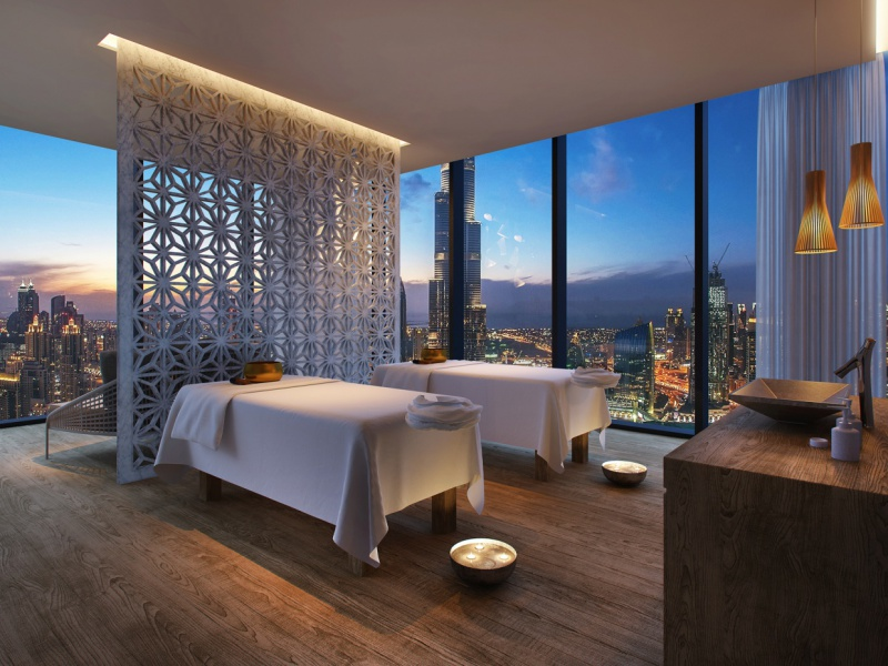 Six Senses Spa Dubai Touch Suite