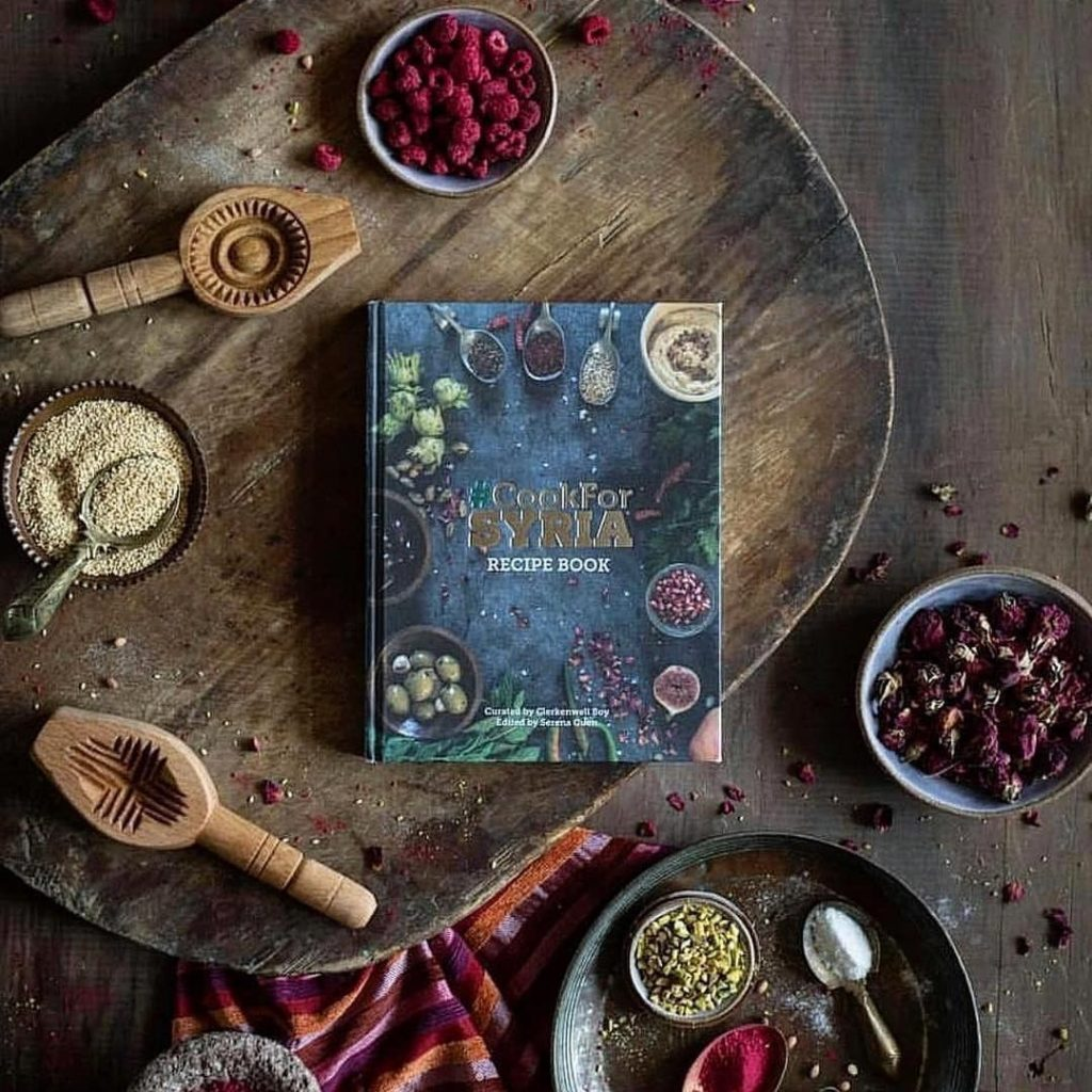cook for syria cookbook spices