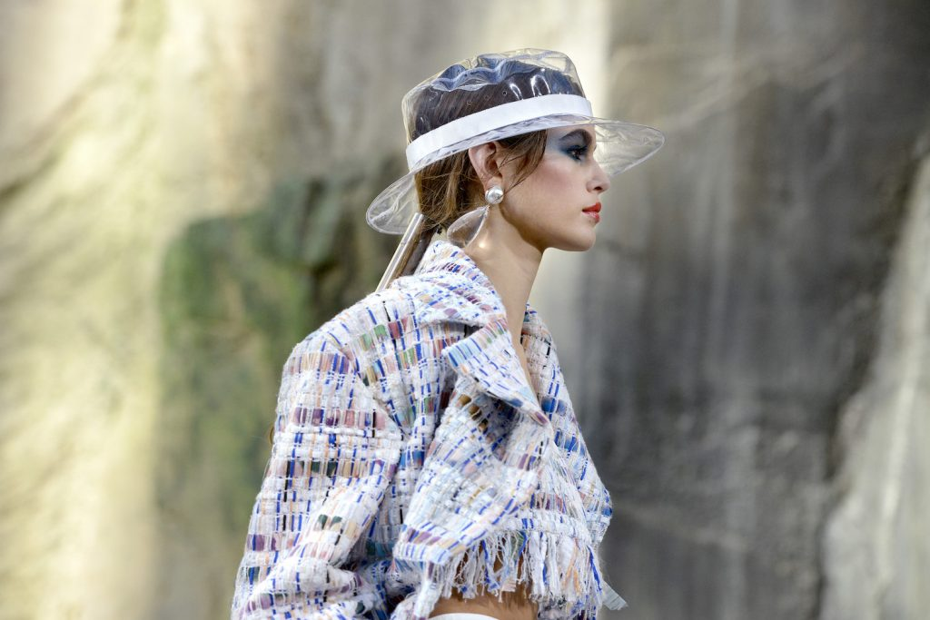 The (Real) Story Behind the Chanel Show That Launched the Plastic Trend