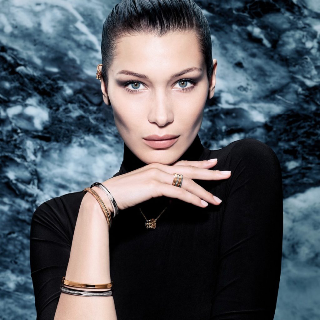 Bella Hadid Sets Hearts Racing in Bulgari's New 'B.zero1' Campaign