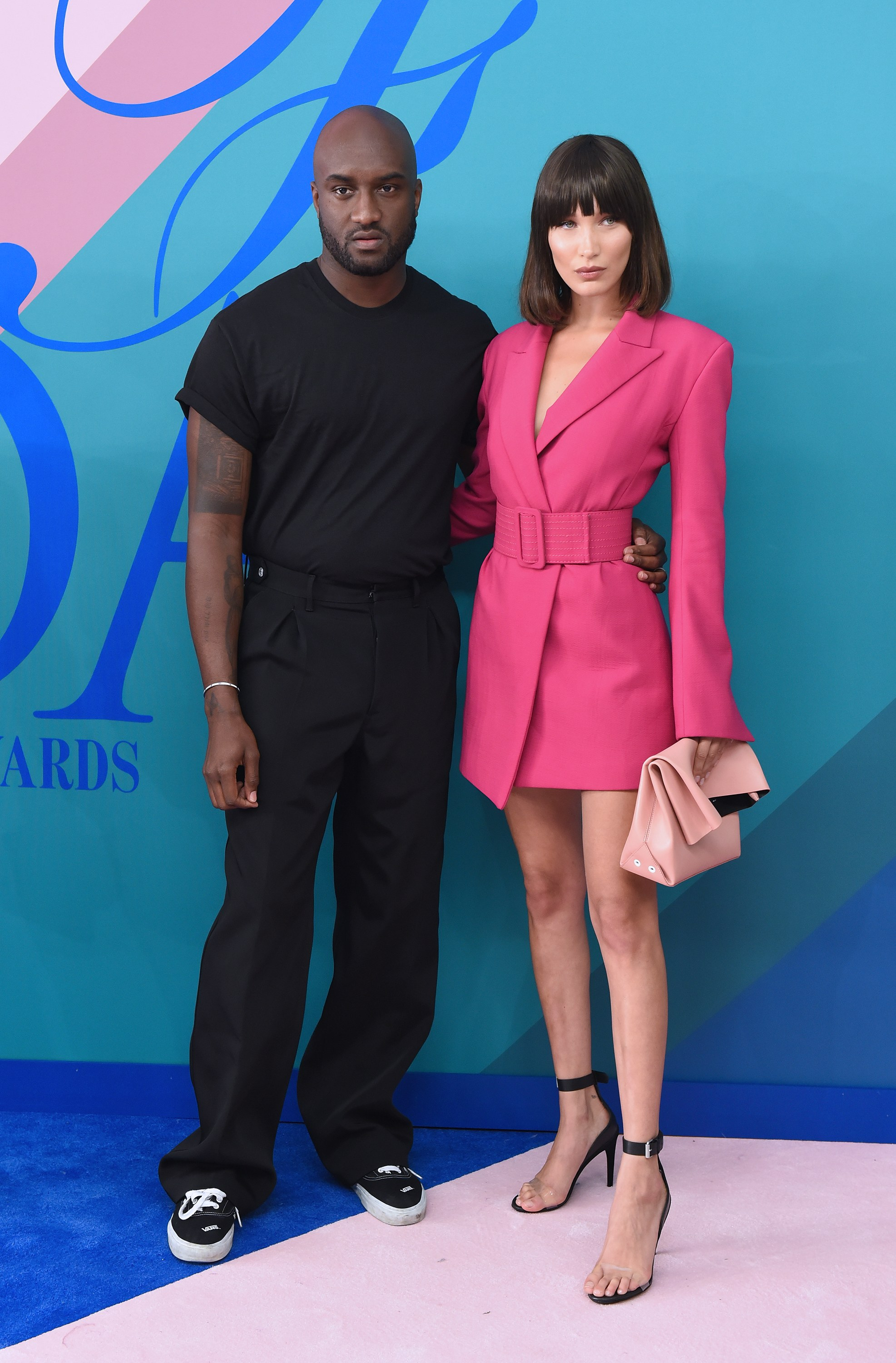Bella Hadid and Virgl Abloh