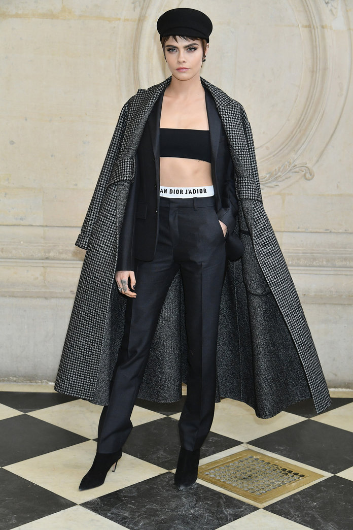What (Really) Happened in the Front Rows at Paris Fashion Week