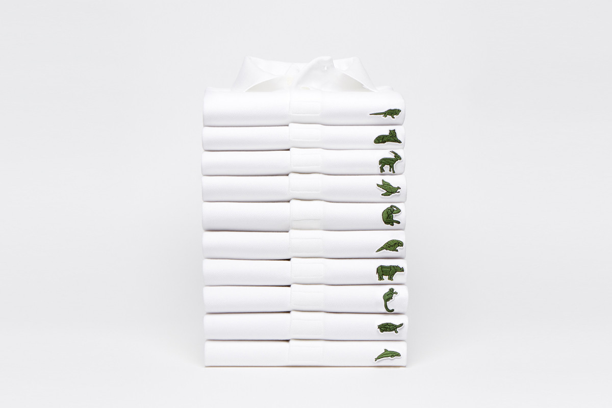 Lacoste Save our Species campaign