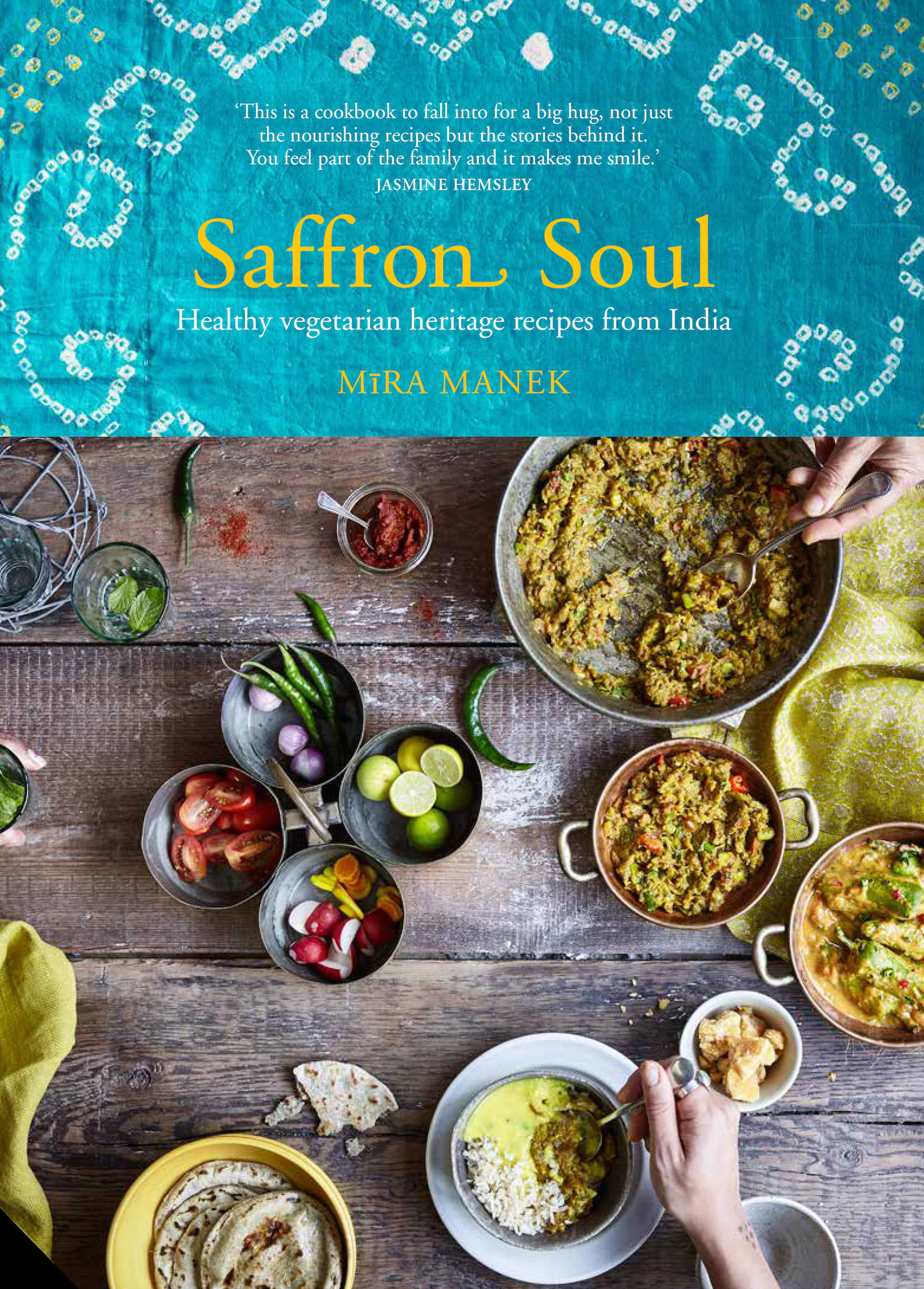 Saffron Soul - Front Cover cookbook