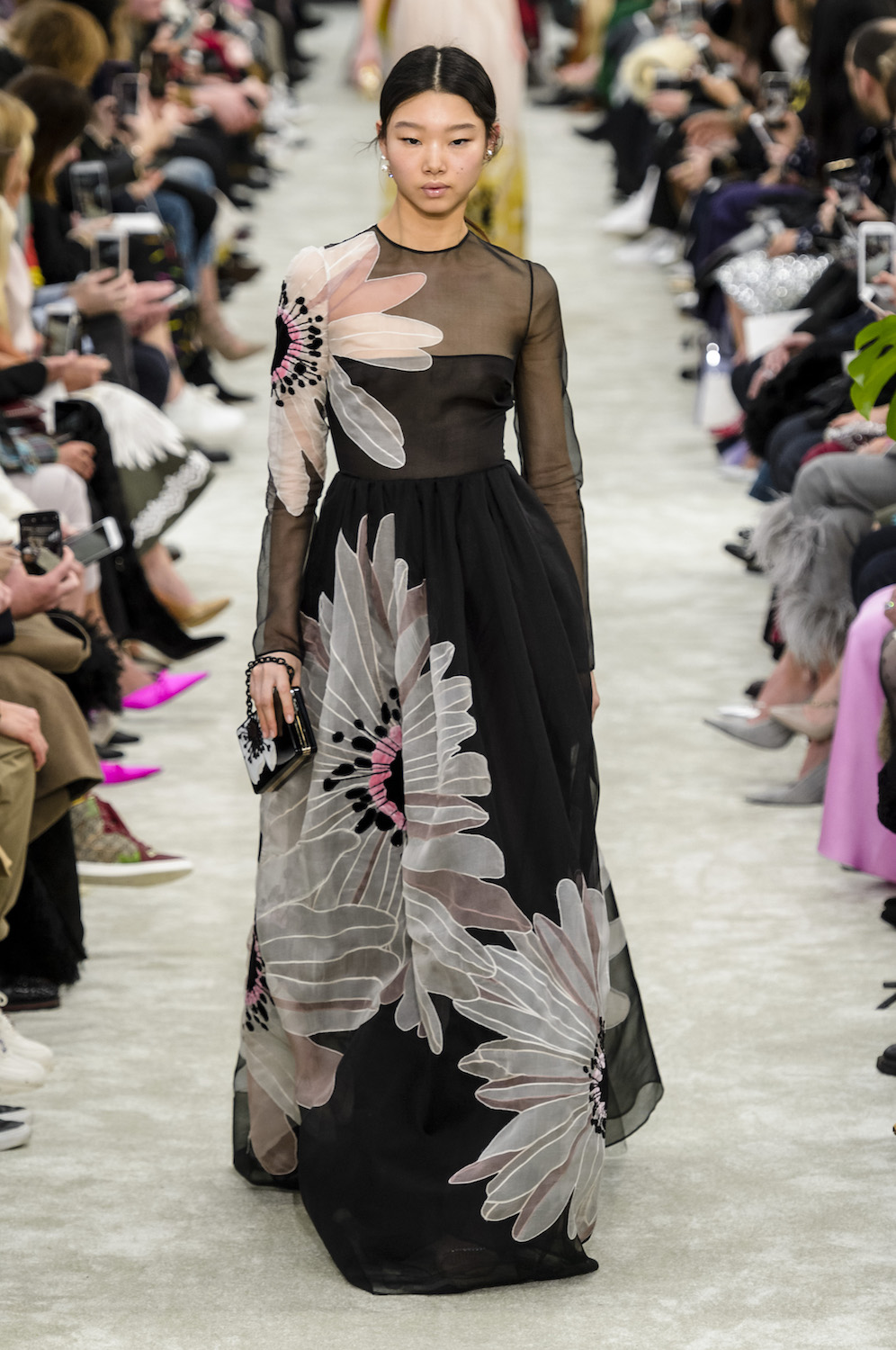 The Modest Fashion Movement Gains Ground at Valentino