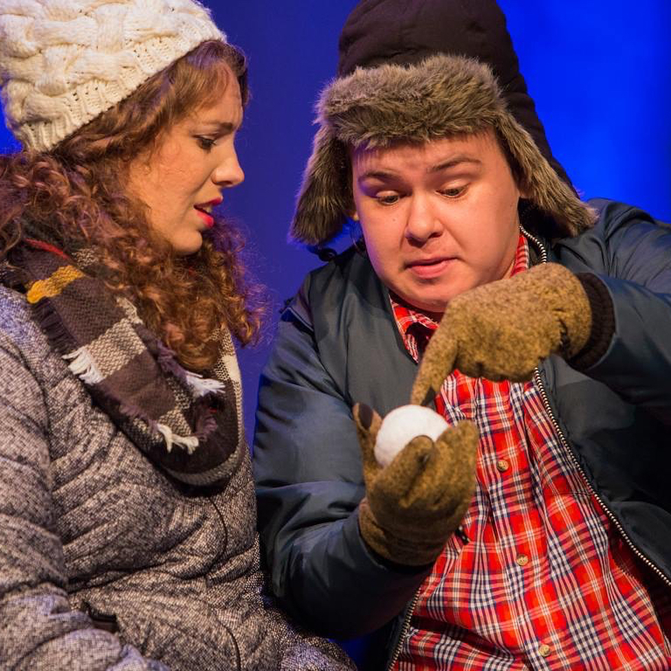 almost maine scene stage show