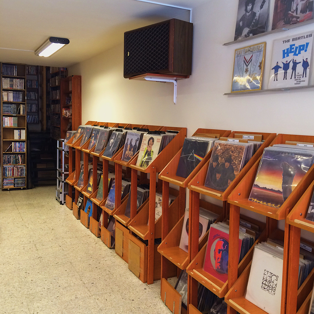 chico records shop beirut