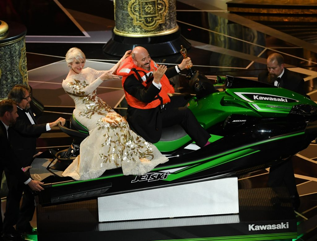 Why a Jet-Ski Was Just as Coveted as a Statuette at the 2018 Oscars