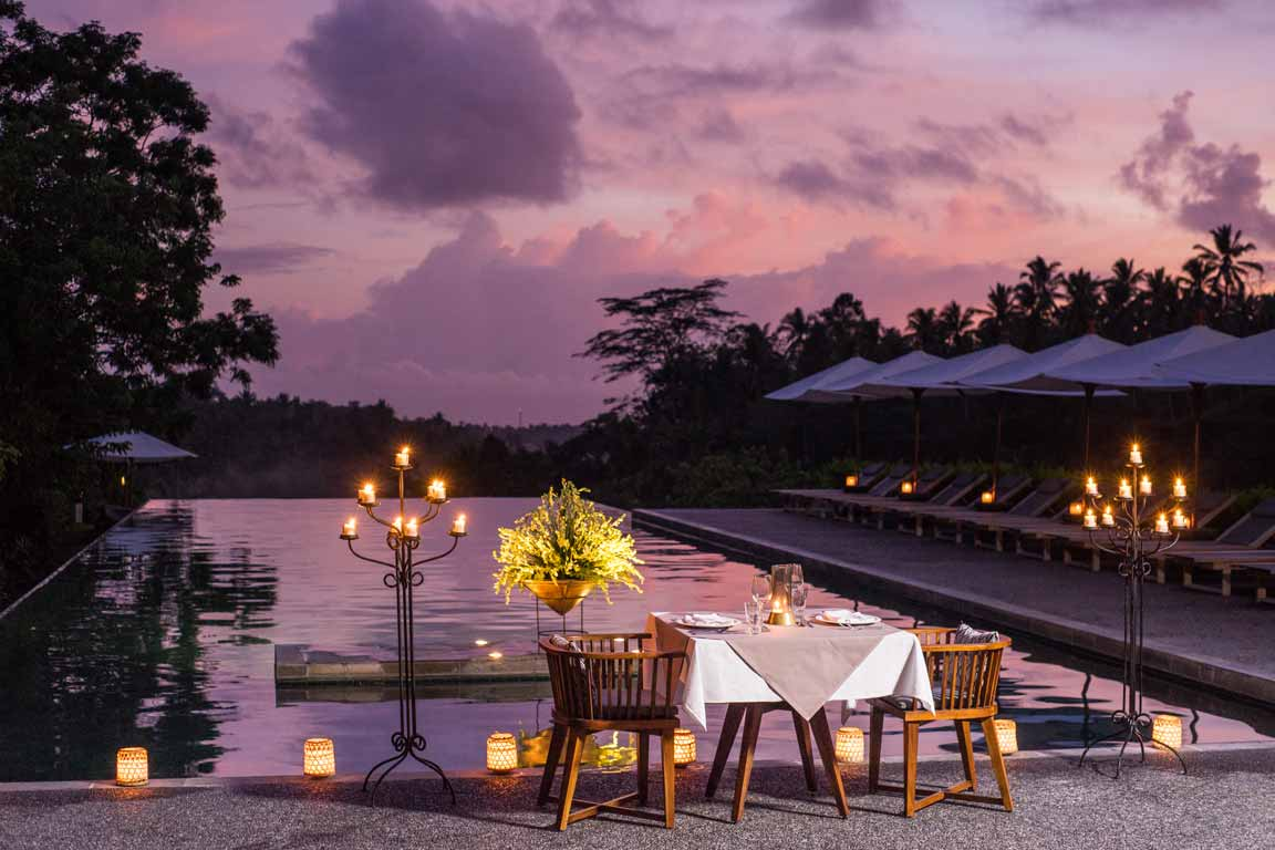 Alila Ubud Romantic Dinner
