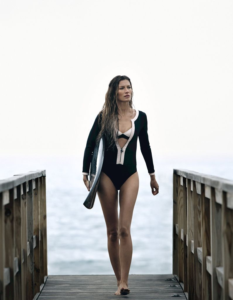 Gisele surf Chanel