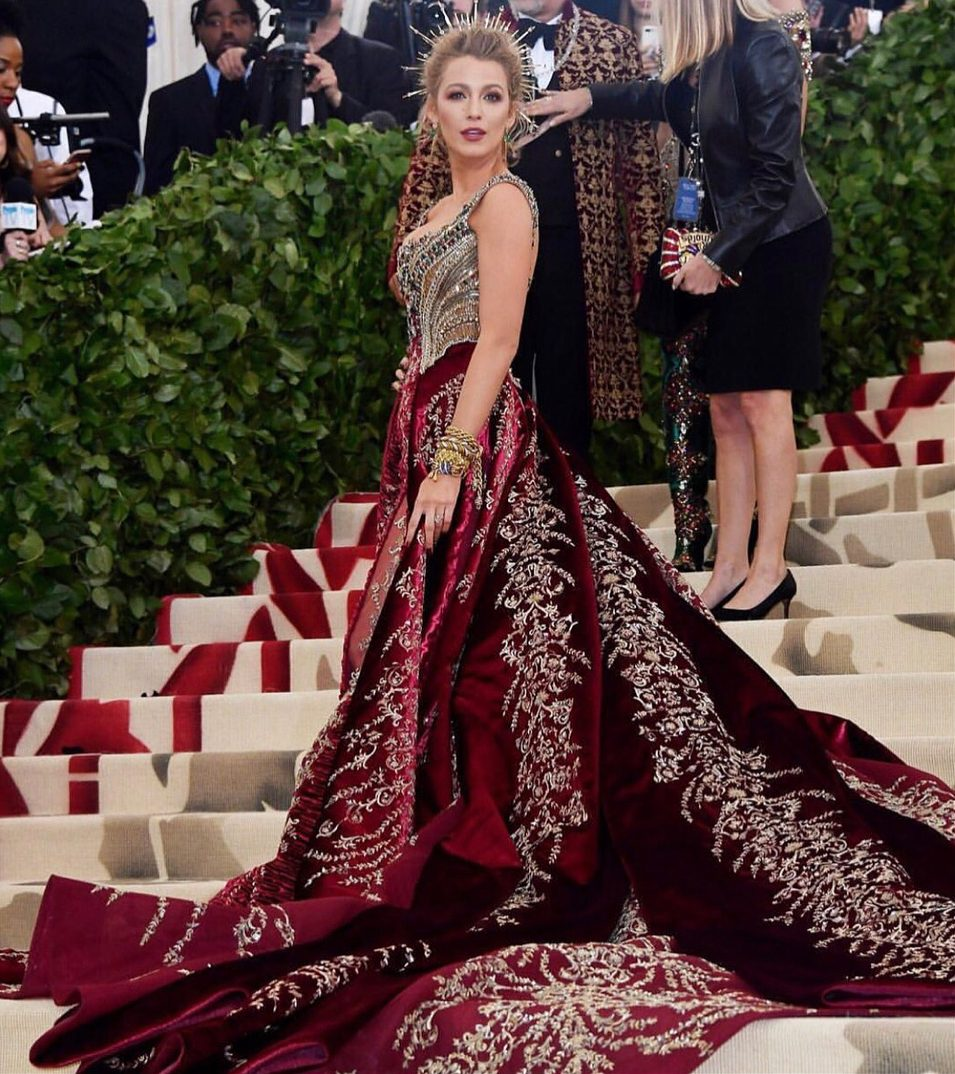 Blake Lively Versace