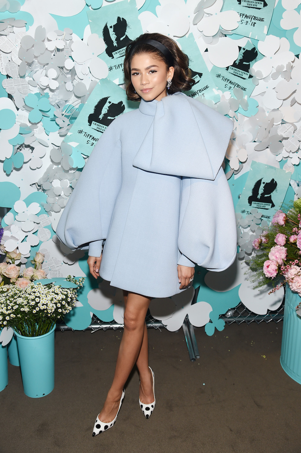 NEW YORK, NY - MAY 03: Zendaya attends the Tiffany & Co. Paper Flowers event and Believe In Dreams campaign launch on May 3, 2018 in New York City. (Photo by Jamie McCarthy/Getty Images for Tiffany & Co.)