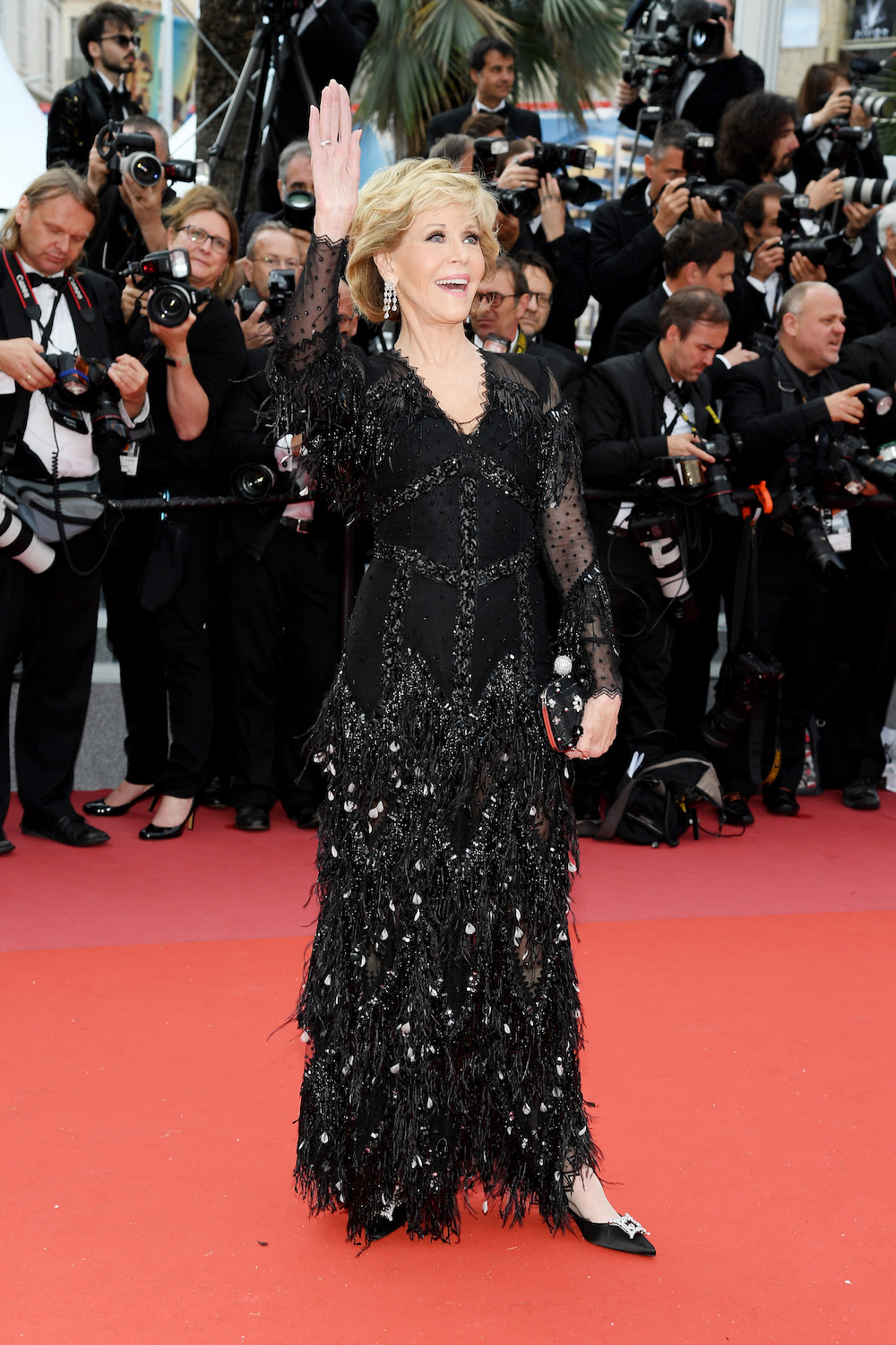 One of the Best-Dressed Celebs at Cannes Is Older Than the Festival Itself