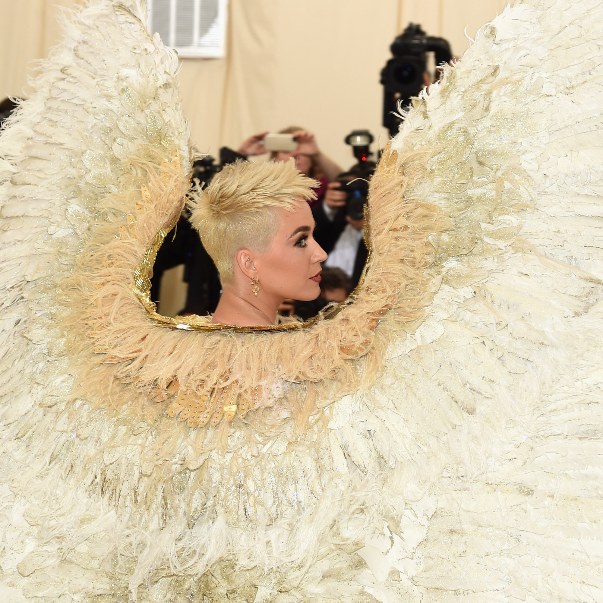 Katy Perry MET Gala wings