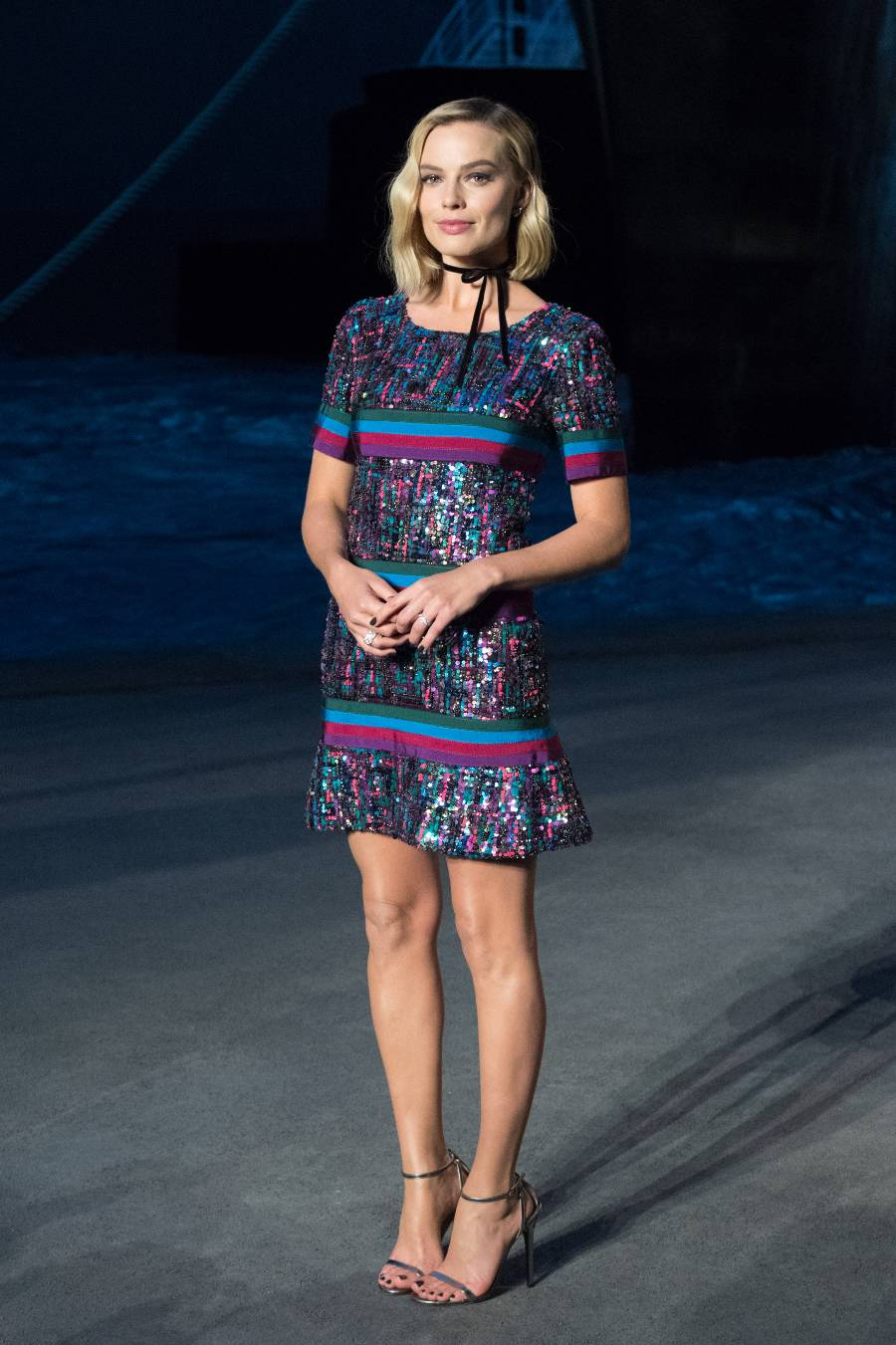 Margot Robbie at Chanel Cruise 2019