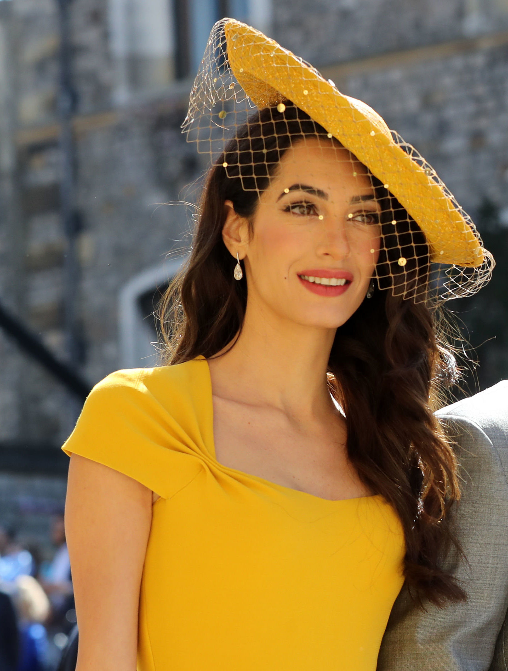 Royal Wedding Beauty Amal Clooney