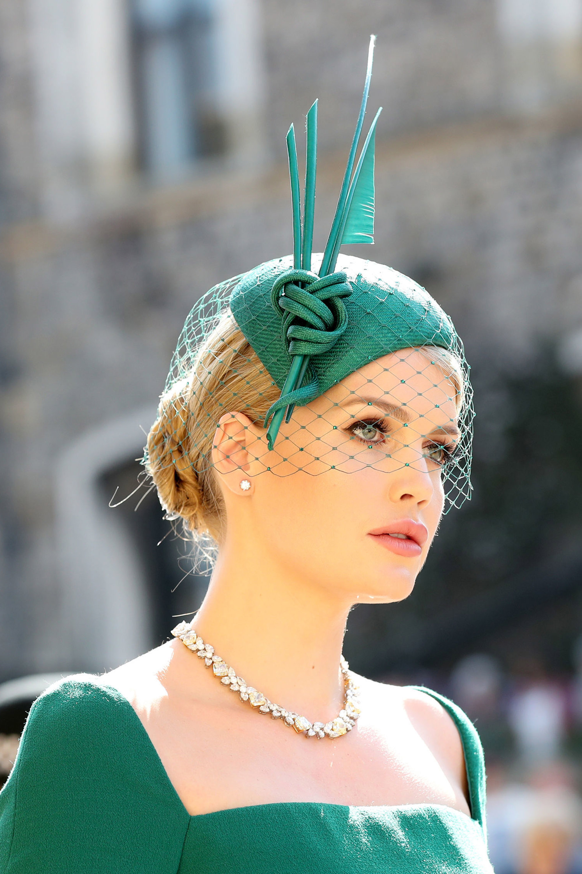 Royal Wedding Beauty Looks Lady Kitty Spencer