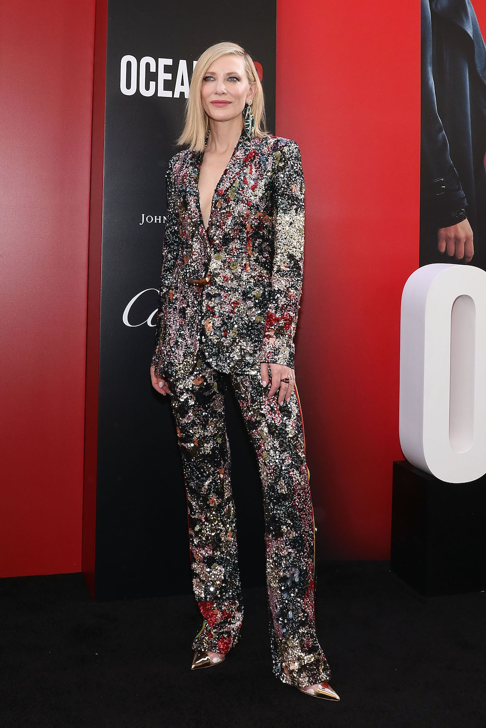 "NEW YORK, NY - JUNE 05: Cate Blanchett attends the world premiere of ""Ocean's 8"" at Alice Tully Hall at Lincoln Center on June 5, 2018 in New York City. (Photo by Taylor Hill/Getty Images)"