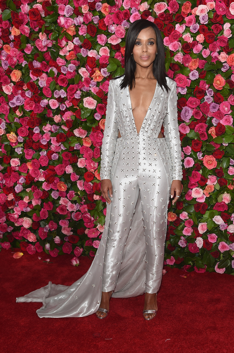 NEW YORK, NY - JUNE 10: Kerry Washington attends the 72nd Annual Tony Awards at Radio City Music Hall on June 10, 2018 in New York City. (Photo by Jamie McCarthy/Getty Images)