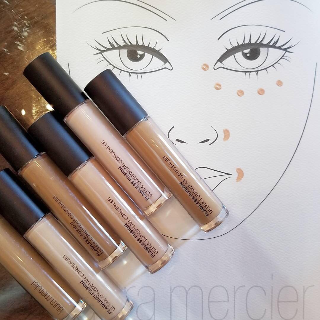 Laura Mercier Flawless Fusion Ultra-Longwear Concealer tips