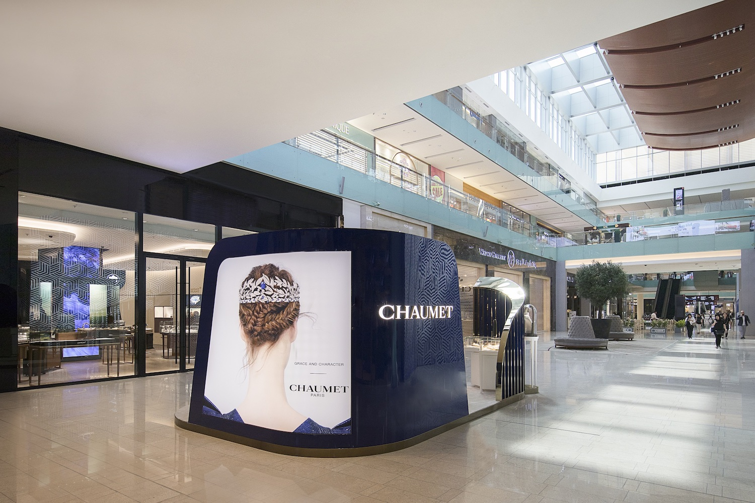 CHAUMET - Pop-up boutique at The Dubai Mall - July 2018