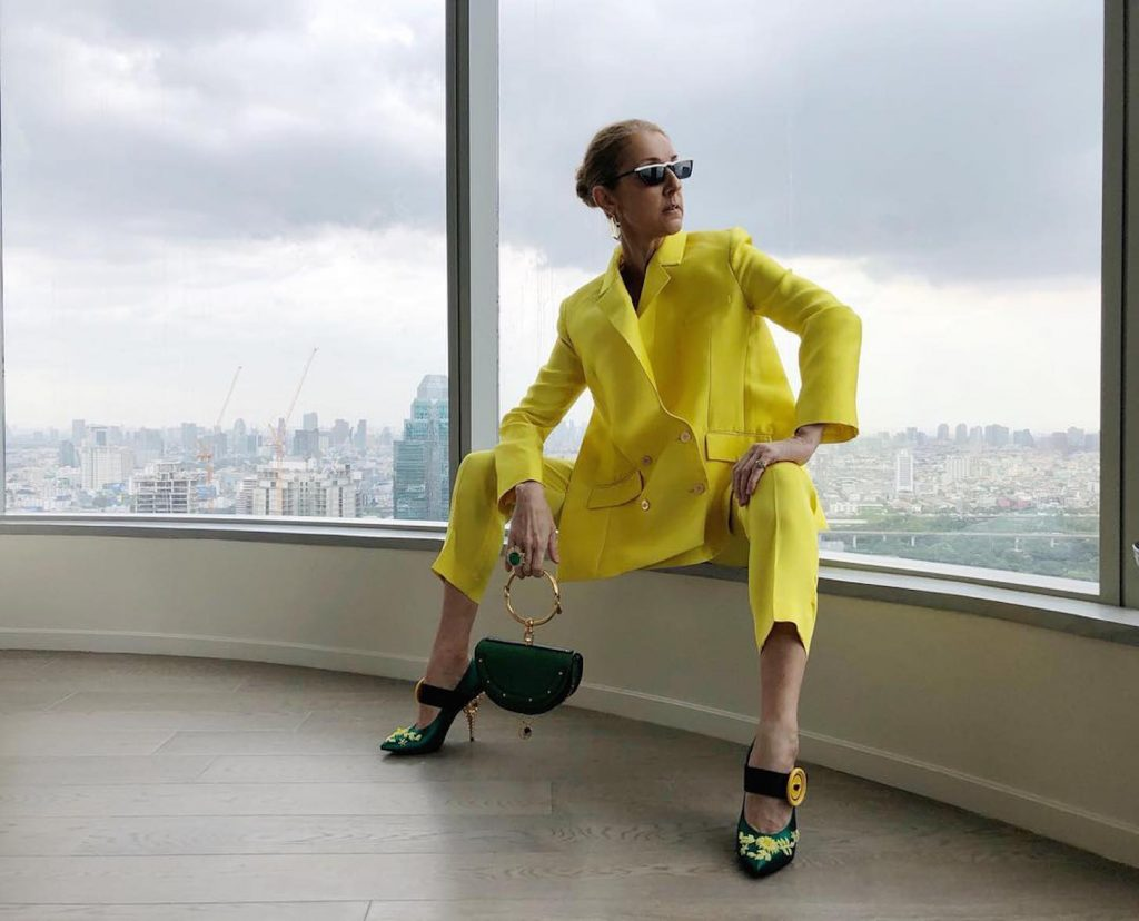 Celine Dion Has Nothing But Love For This Arab Designer