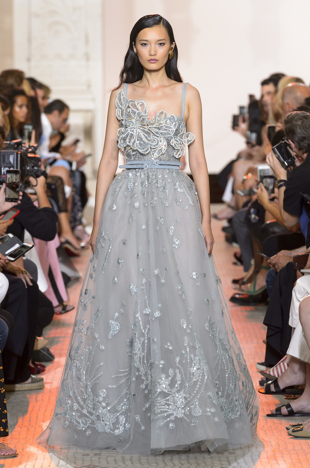 Elie Saab Pays Homage to Gaudí's Architectural Genius for Fall Couture