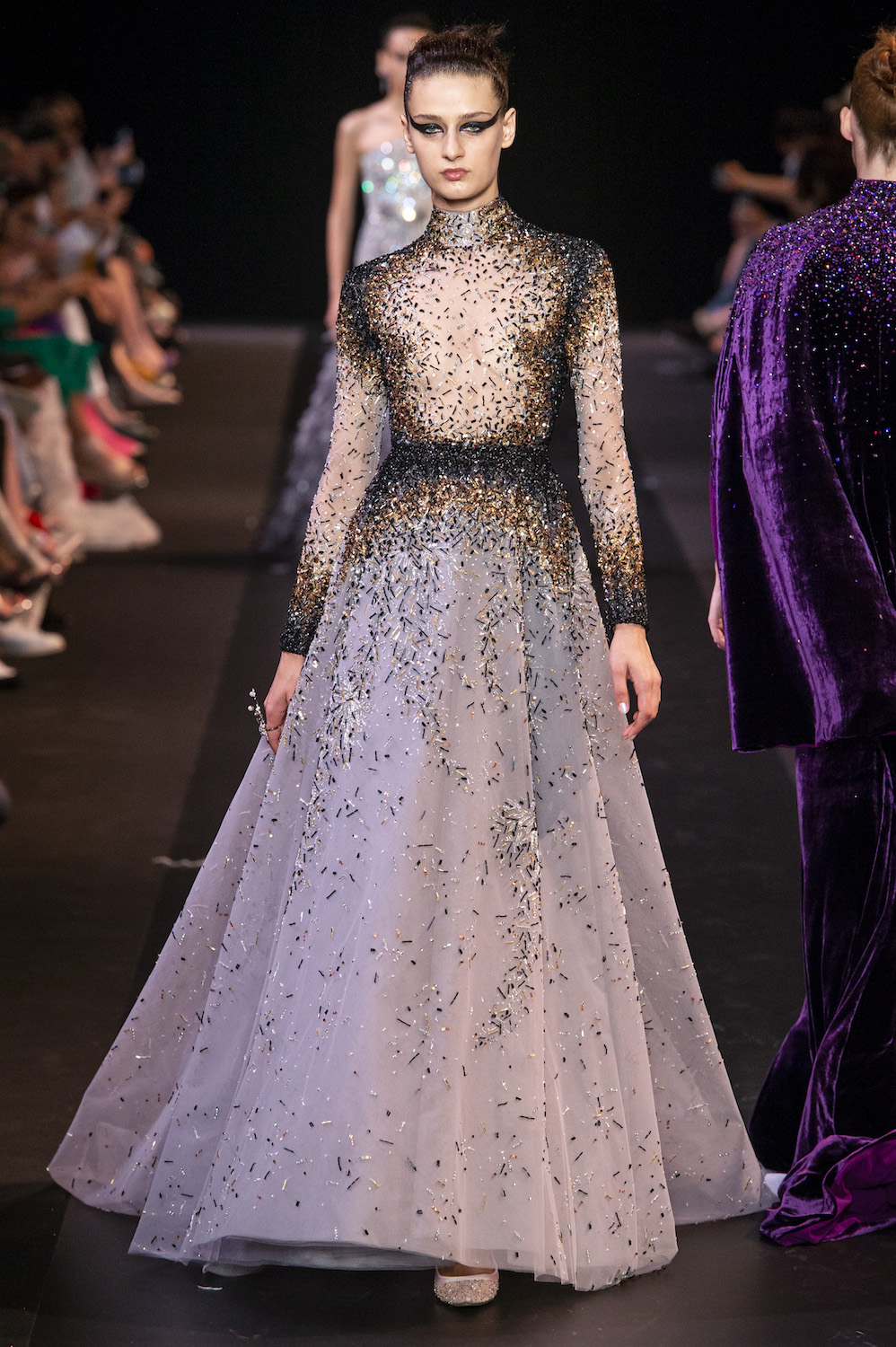 Georges Hobeika's (Metaphorical) Swan Song for Fall 2018 Couture
