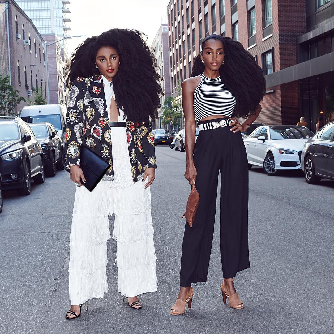 TK and Cipriana Quann Sisters