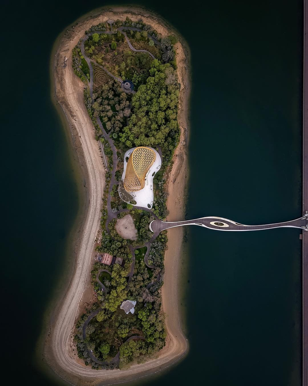 natgeo aerial view of al noor island sharjah
