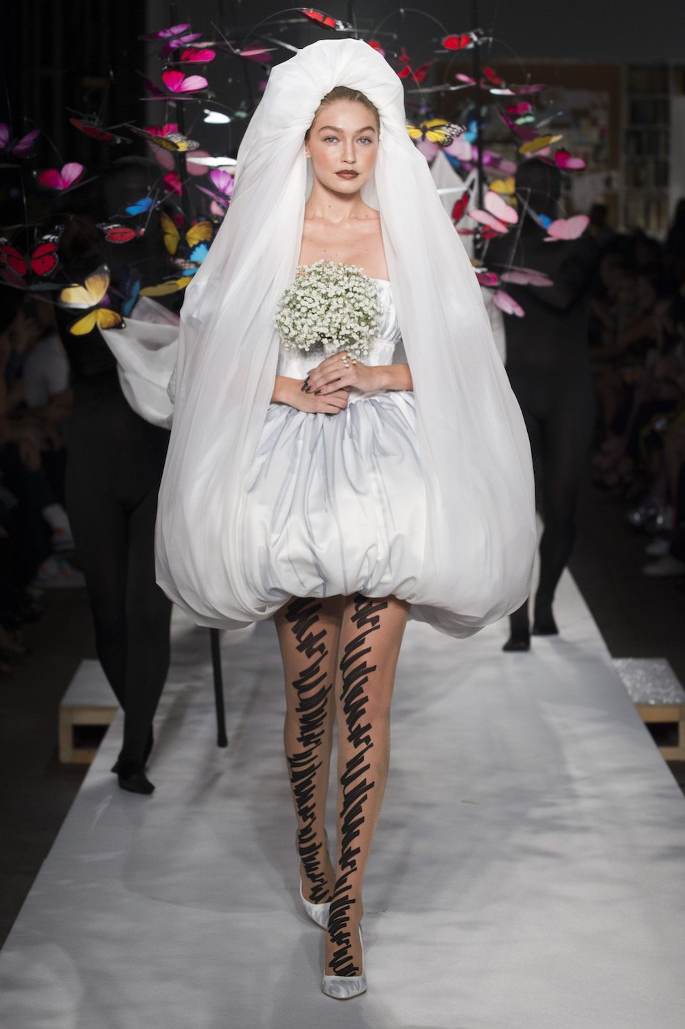 Moschino's Stunning Ode to Haute Couture Had One of MFW's Best Moments
