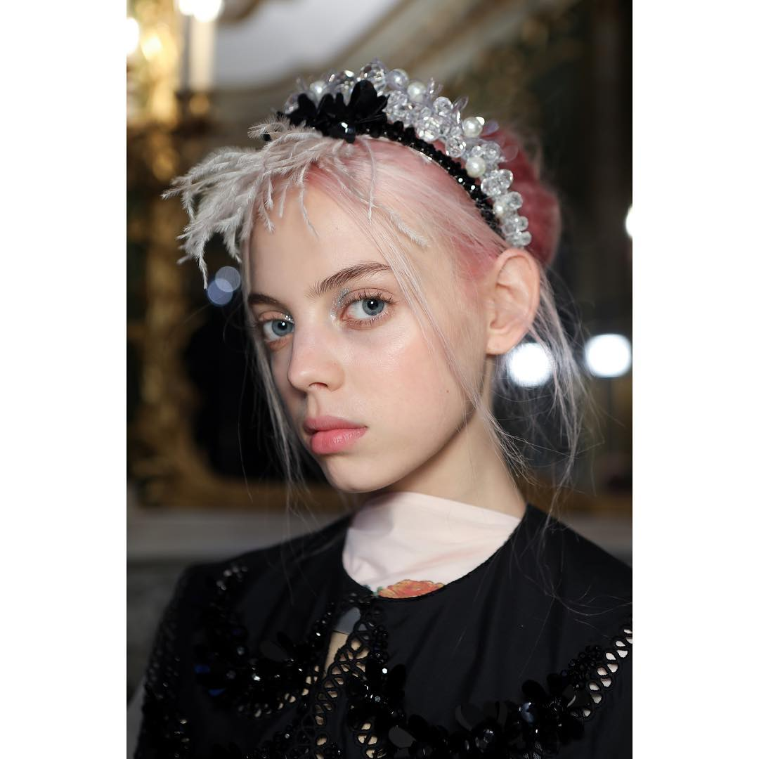 SS19 LFW Beauty Hair Makeup Trends