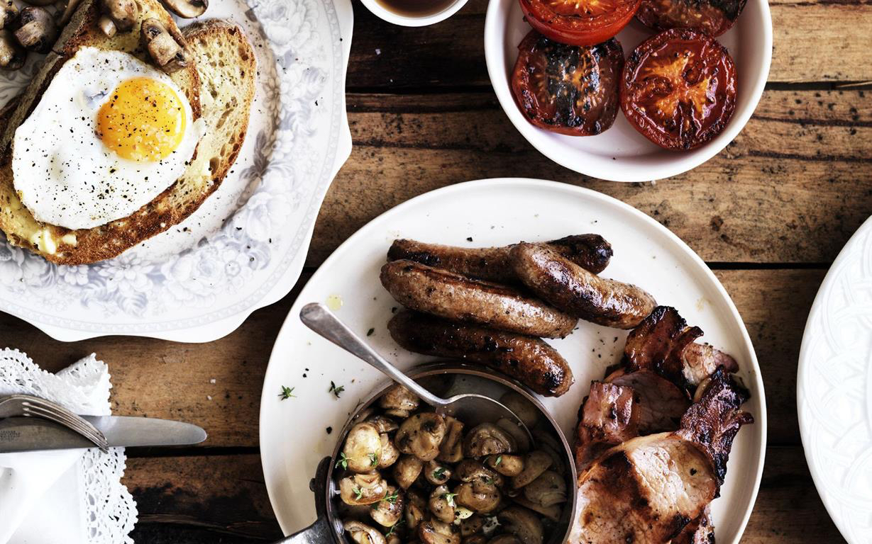 cooked english breakfast Food To Love