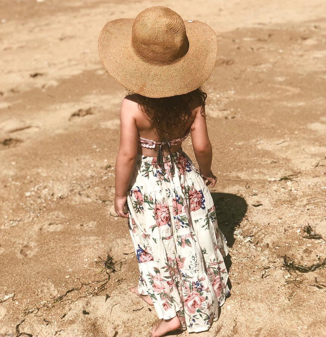 millie belle diamond beach floral dress