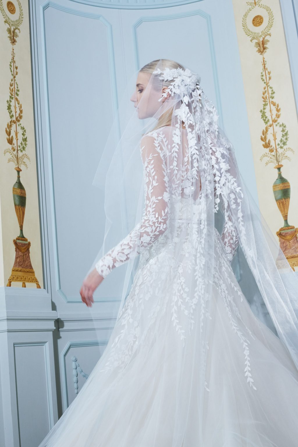 Celebrating the Ethereal Symmetry of Elie Saab's New Bridal Collection