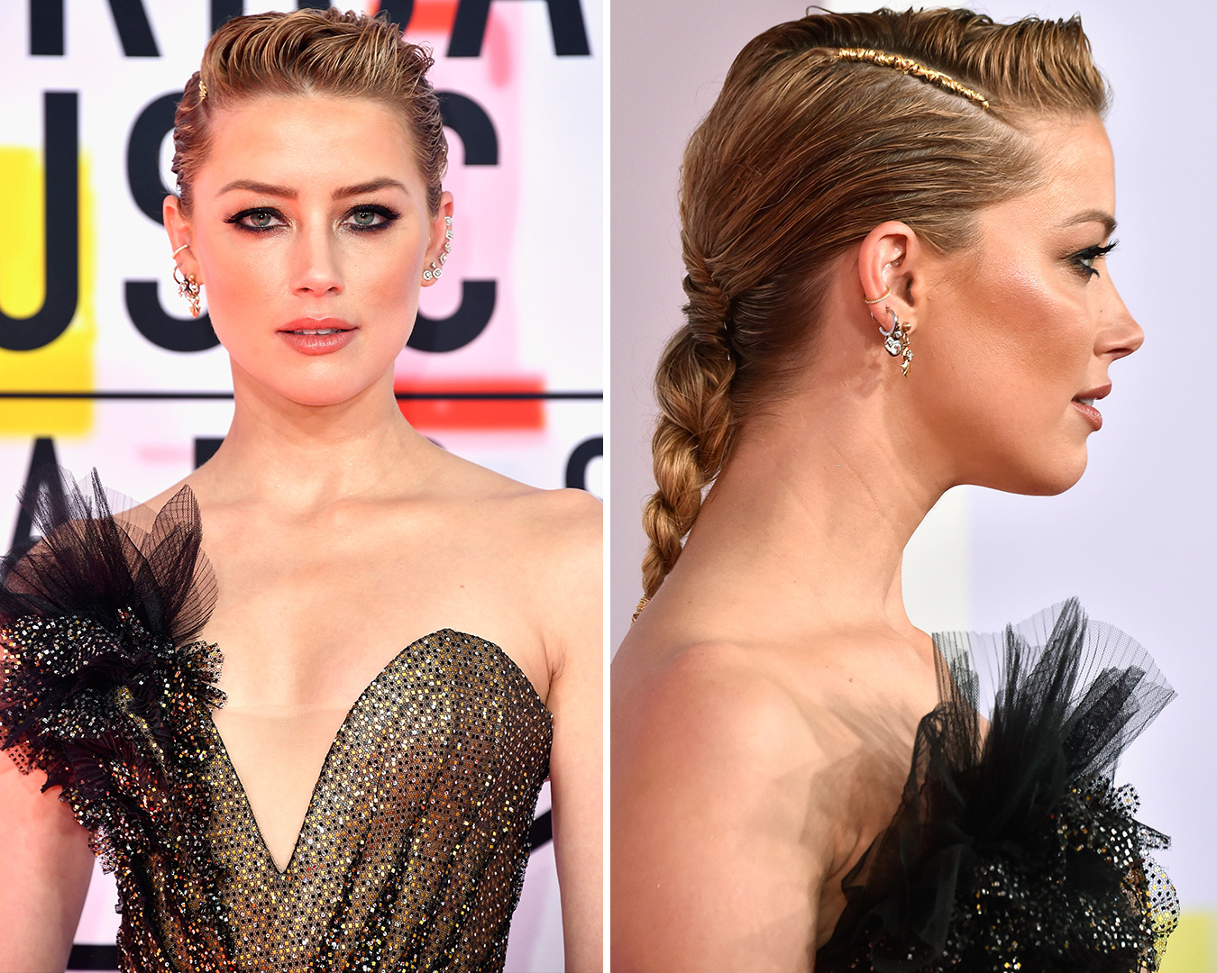 American Music Awards 2018 Beauty Amber Heard