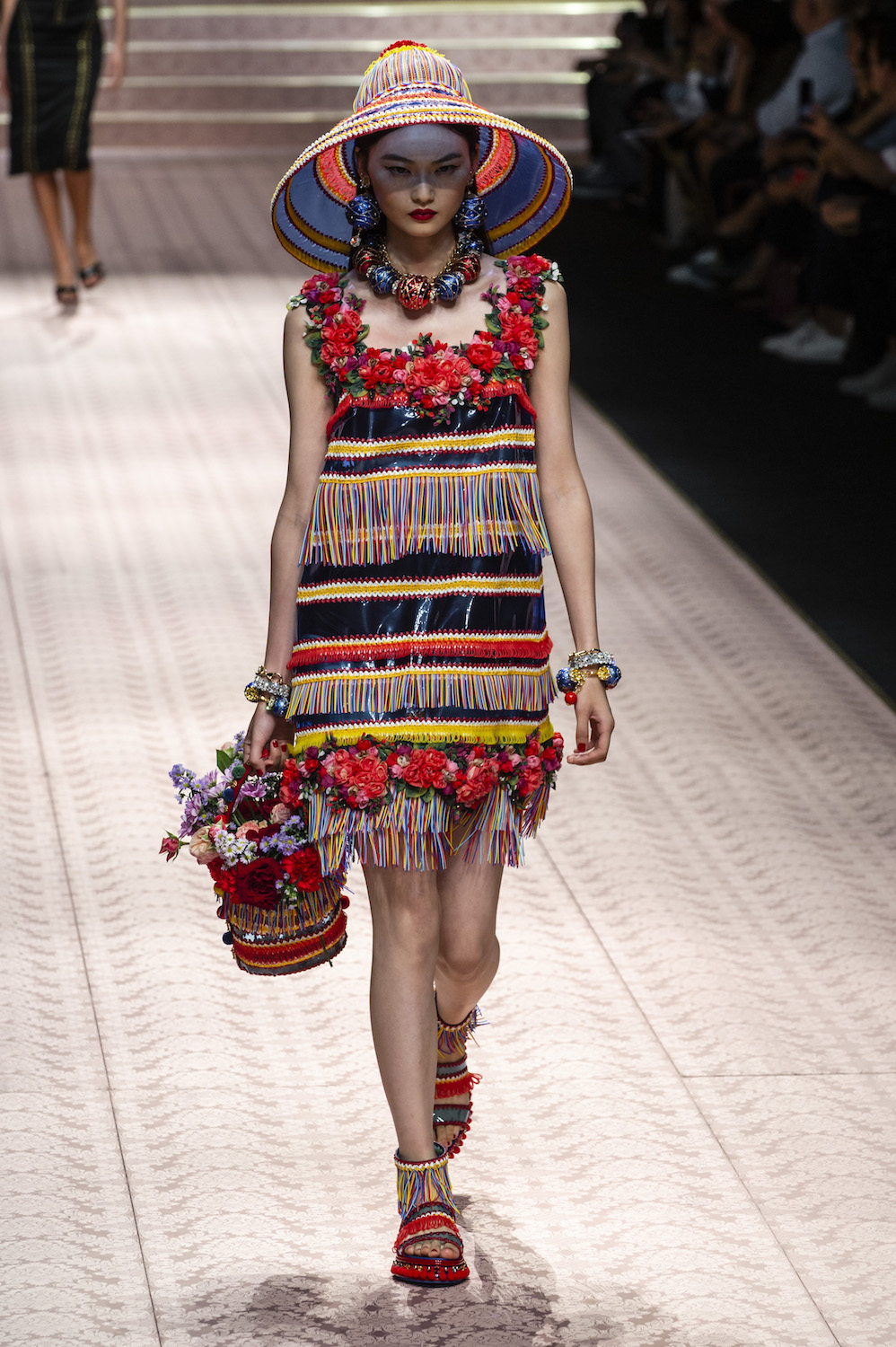 It Was a Delightful Family Affair at Dolce & Gabbana Spring/Summer 2019