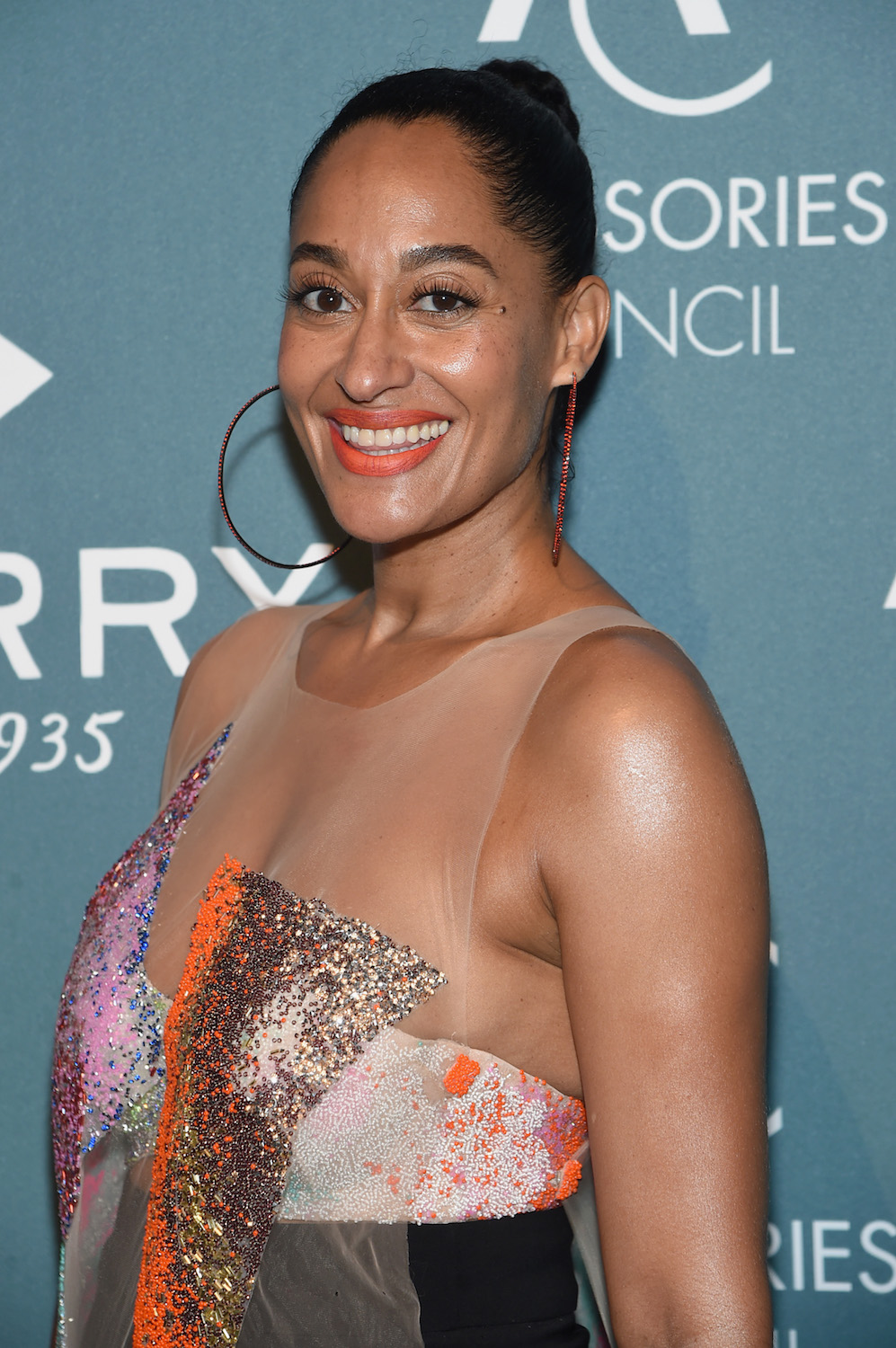 Tracee Ellis Ross attends the 22nd Annual Accessories Council ACE Awards at Cipriani 42nd Street on June 11, 2018 in New York City.