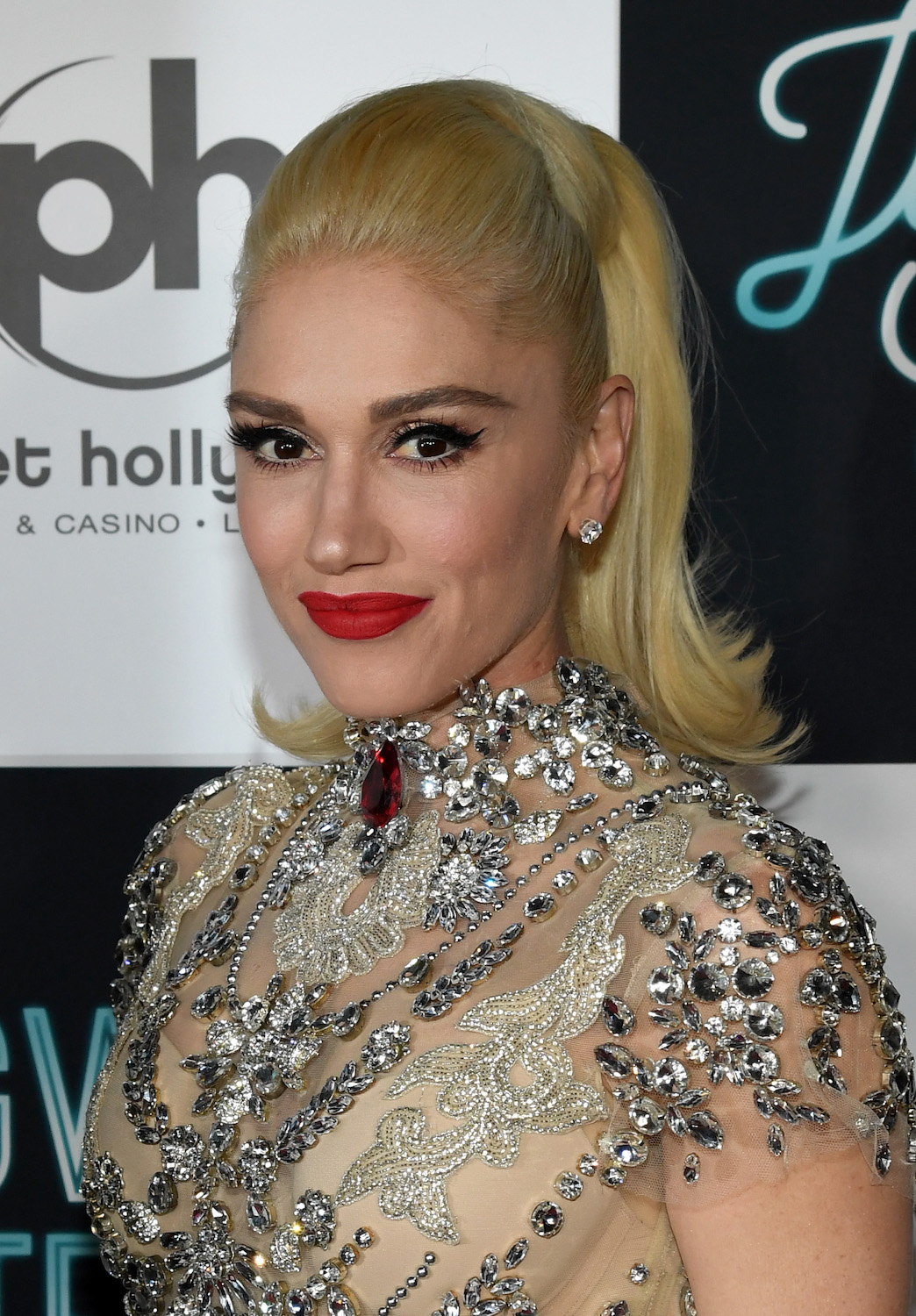 "Gwen Stefani attends the grand opening of the ""Gwen Stefani - Just a Girl"" residency at Planet Hollywood Resort & Casino on June 28, 2018 in Las Vegas, Nevada."