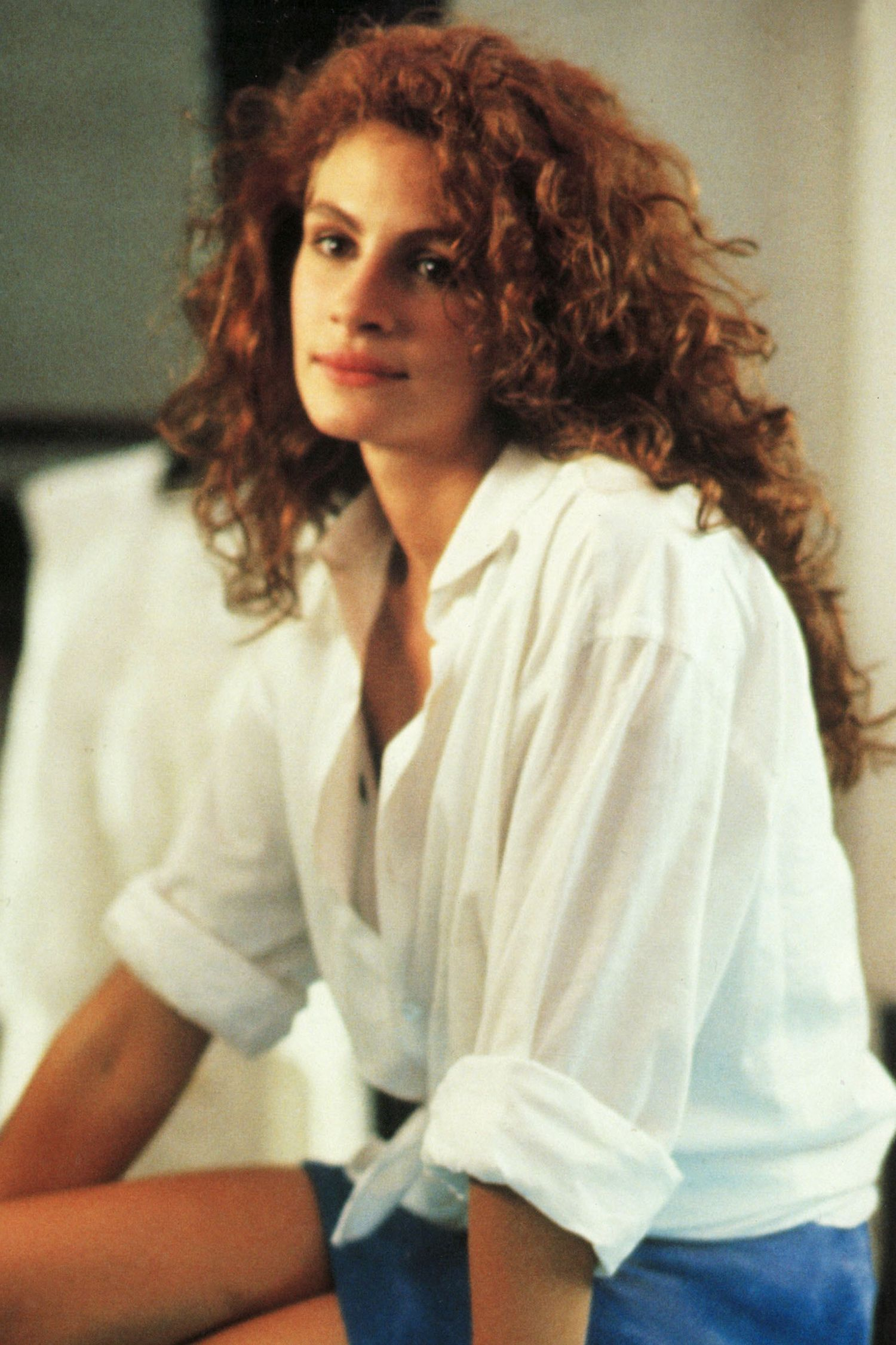 Julia Roberts Pretty Woman white shirt