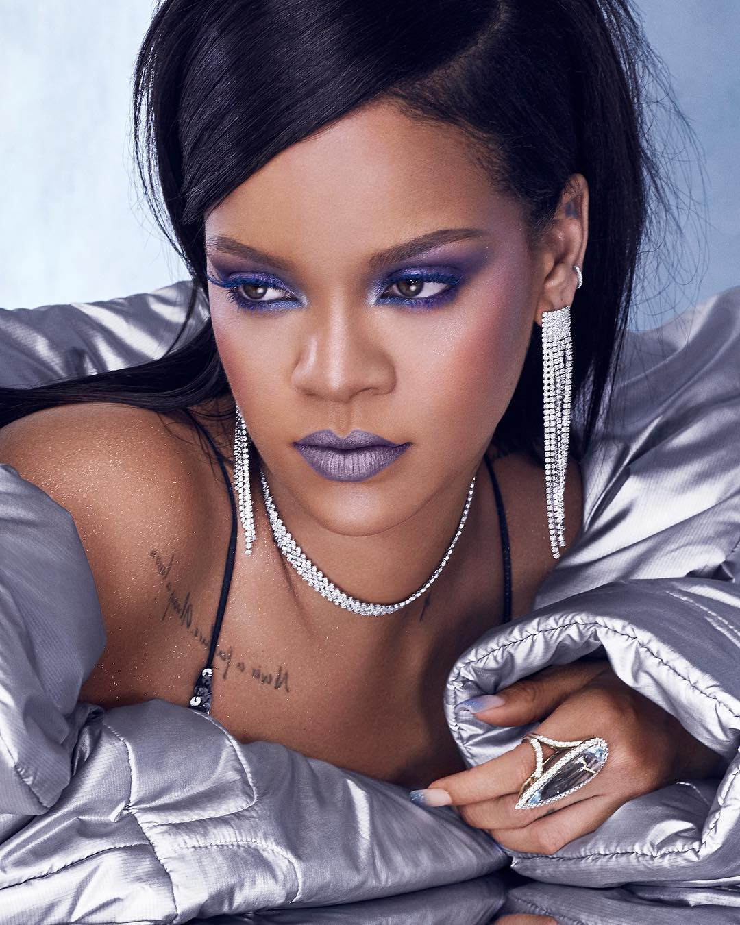 Rihanna youtube makeup tutorial